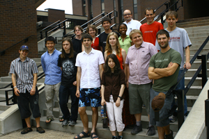Prague 2009 REU Group